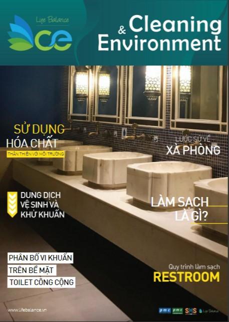 Tạp chí CLEANING & ENVIRONMENT | Life Balance – No.1 – Làm sạch restroom